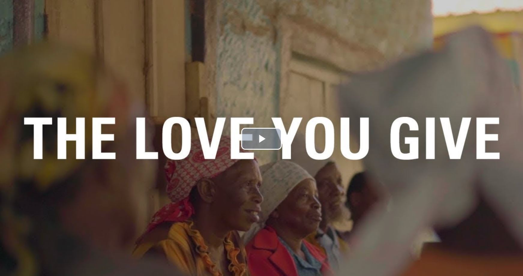 The Love You Give: The Untold Story of Orphanages